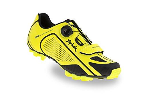 Chaussures de course Spiuk Altube Mtb, Unisexe Adulte, Jaune / Noir, 45