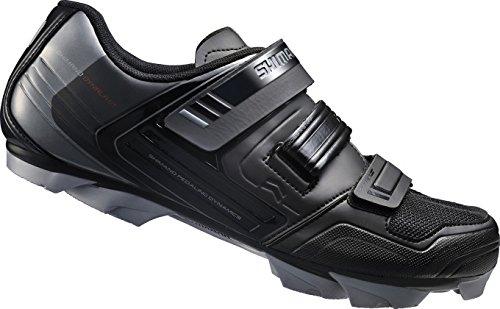 Shimano SPD SH SH XC31L - Chaussures de vélo de montagne pour adultes, noires, 41 EU
