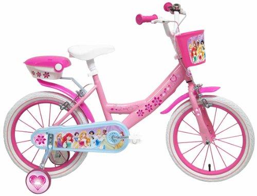 Disney - Bicyclette avec roues et panier