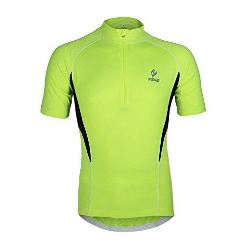 M.Baxter Maillot de cyclisme manches courtes T-shirt homme manches longues Vêtements de cyclisme