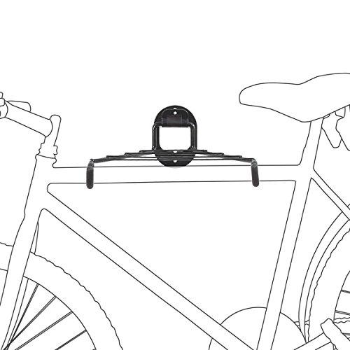 Porte-vélos Support mural Charge jusqu'à 25 kg