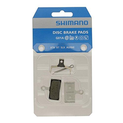 Shimano 8J79803A - Plaquettes de frein à disque M985-785-666-S700 Résine