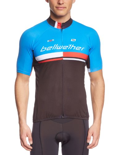 Bellwether - Maillot pour homme, taille L, bleu