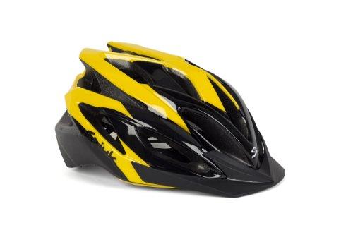 Spiuk Tamera - Casque de vélo, jaune / noir, taille 58....