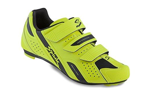 Spiuk Rodda Road - Chaussures unisexes, jaune / noir, pointure 45