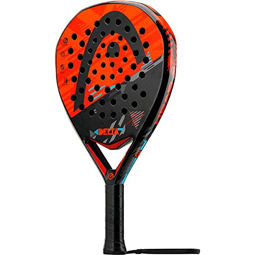 Pagaie Head Delta Pro Paddle Paddle, Unisexe Adulte, Noir/Orange, Unique