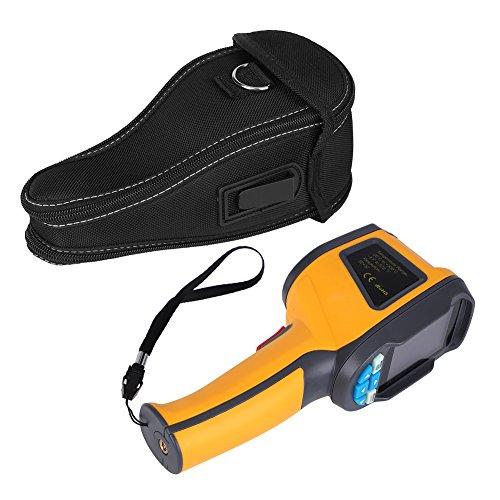 Caméra thermique, caméra thermographique infrarouge HT-02D et caméra à lumière visible...