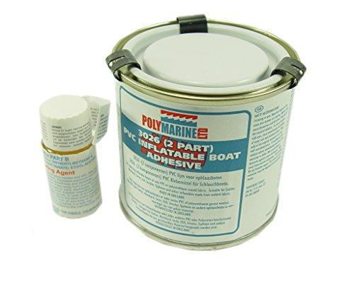 Polymarine - Adhésif pour bateaux gonflables (PVC, polyuréthane, 2 parties)