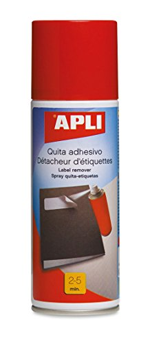 APLI 11303 - Spray décollant pour adhésif, 200 ml