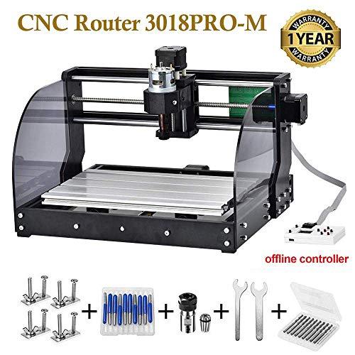 Vogvigo CNC 3018pro-M Mini machine CNC pour le bricolage, gravure sur bois...