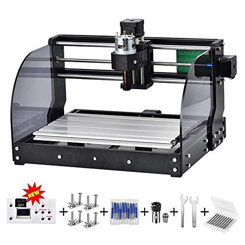 TOPQSC CNC 3018pro-M DIY Mini machine CNC, gravure sur bois ...