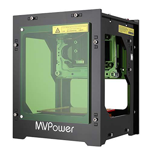 MVPOWER Machine de gravure laser 1500mW Filtre acrylique avec ...