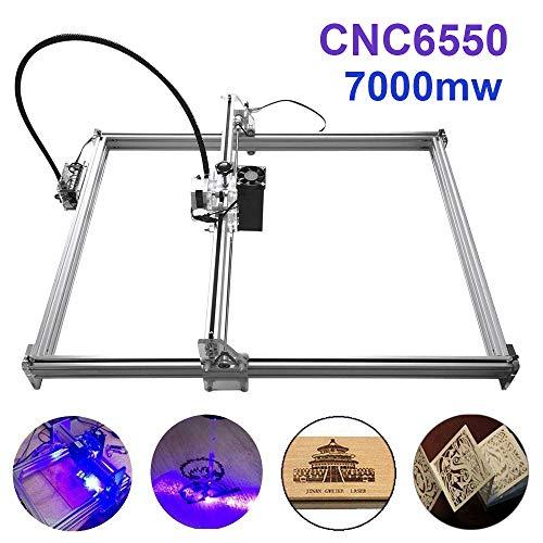 Machine de gravure laser 7000mw, TopDirect 6550 Mini routeur CNC USB ...