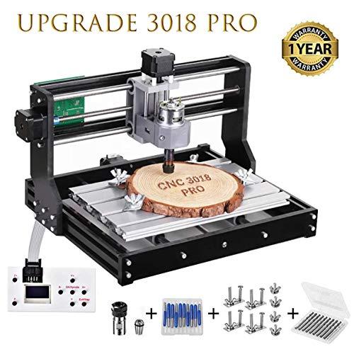 HUKOER 3018 Pro Machine à graver laser hélio CNC,CNC 3018 Pro...