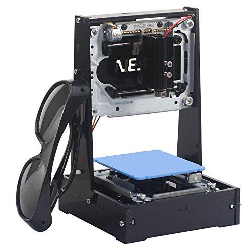 Machine à graver laser pour bricolage 500mW-4 Machine à graver laser pour boîte ...