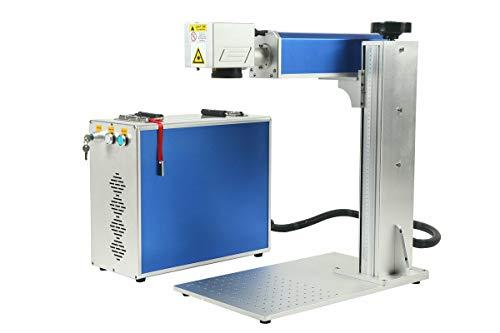 20w 110*110mm Machine de marquage laser à fibre détachée