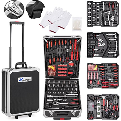TRESKO Tool Case 949 Pièces : Mallette portable : ...