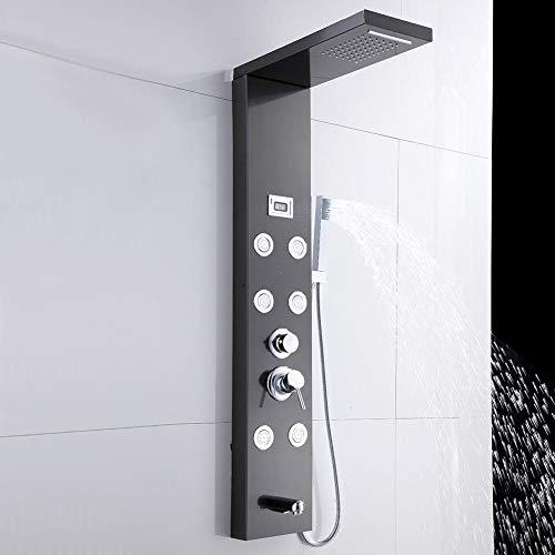 Colonne de douche cascade en acier inoxydable Zoternen avec...