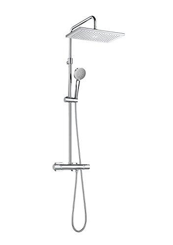 Roca Even A5A2080C00 - Colonne de douche thermostatique . Les robinets...