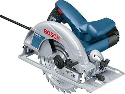 Bosch Professional GKS 190 - Scie circulaire (1400 W, lame 190 mm, en...