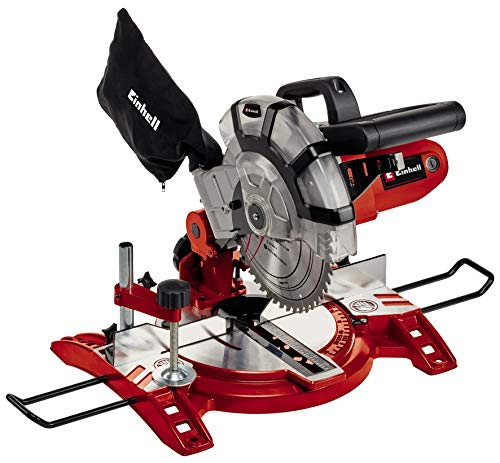 Einhell 4300295 TC-MS 2112 - Machine à onglet, coupe transversale, 1600 W, 230 ...