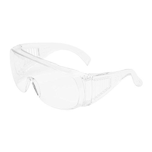 3M VISINC COUVERTURE DE VERRE VISITEUR PC Oculaire incolore 1 lunette/sac