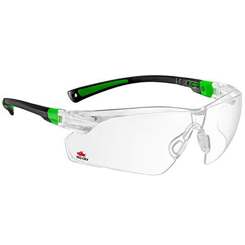 Nocry - lunettes de sécurité avec verres clairs antibuée et...