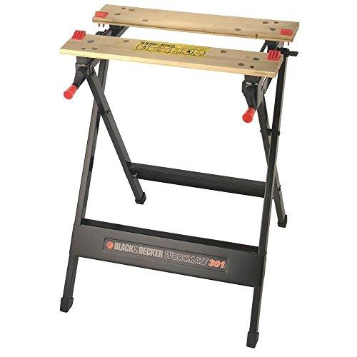 BLACK+DECKER WM301 - Banc de travail, bambou et acier