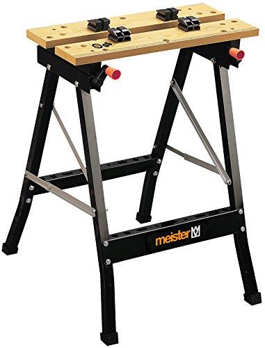 Meister Werkzeuge 9079100 Tréteau pliant en acier 1 pièce(s) - Tréteau...