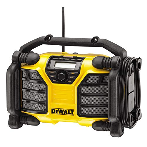 Dewalt DCR017-QW Poste de travail radio DCR017, Batterie/Câble, avec ...