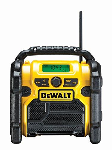 Dewalt DCR019-QW Radio de travail, Batterie/Câble DCR019/DCR019-QW, Noir,...