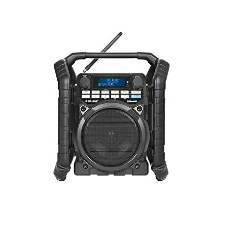 Perfectpro TEAMPLAYER Portable Digital Black - Radio (Portable, Digital,...