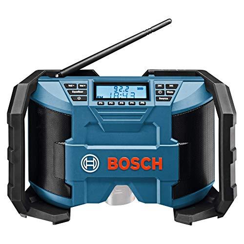 Bosch Professional GPB 12V-10 - Radio de chantier à piles (12 V,...