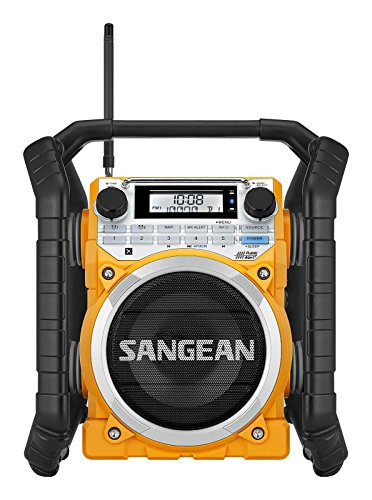 Sangean u4 Digital Noir, Jaune - Radio (Digital, Am,FM, 87.5-108 MHz,...