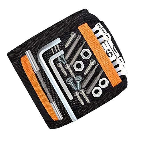 DASFOND Bracelet magnétique ajustable avec 15 super aimants, pour...