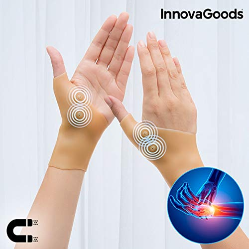 InnovaGoods Poignets à compression par point magnétique - 2 paquets...