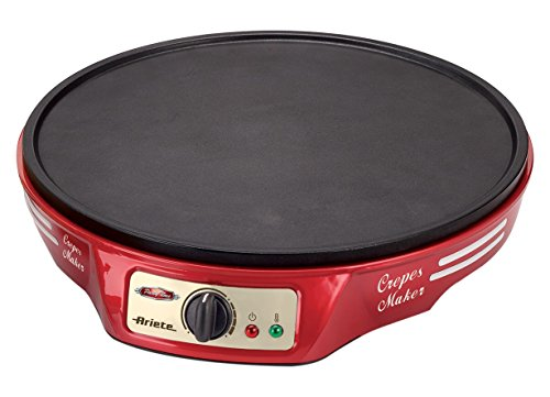 Ram 183 CREPERA PARTY TIME, 1000 W, Noir, Rouge