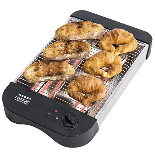 Grille-pain plat horizontal EasyToast Basic Turbo de Cecotec. 2 Résistances de...