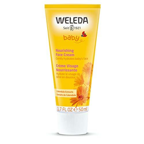 WELEDA Crème pour le visage au Calendula pour bébés (1.7 oz