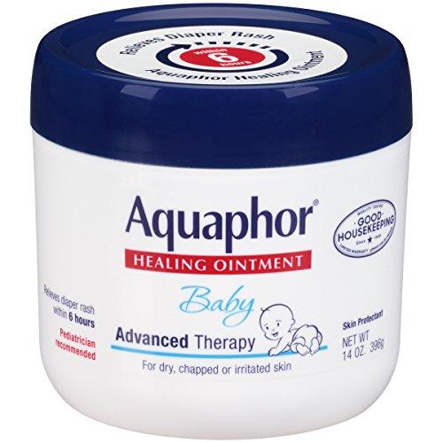 Onguent de guérison pour bébé Aquaphor, thérapie avancée, 14 lunes (396 g) (Paquet...
