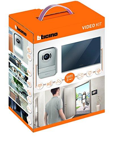 Bticino - 317013 kit vidéophone 2 fils avec finition miroir...