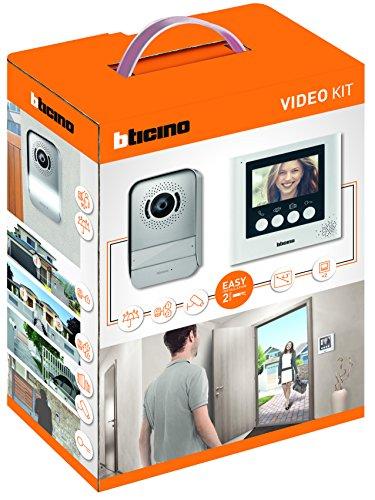 Bticino - Kit de porte vidéo à 2 fils avec moniteur vidéo