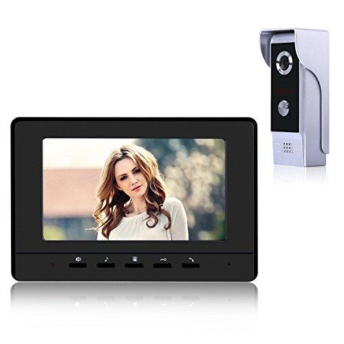 Sonnette numérique avec caméra à 90º, Sonnette électronique YOKKAO avec écran...