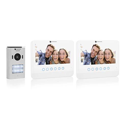 DIC-22222 Système de portier vidéo Smartwares, 720p HD, écran LCD 7