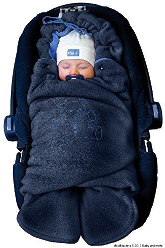 ByBoom - Couverture câline d'hiver pour bébé, elle est idéale pour les sièges de bébé...