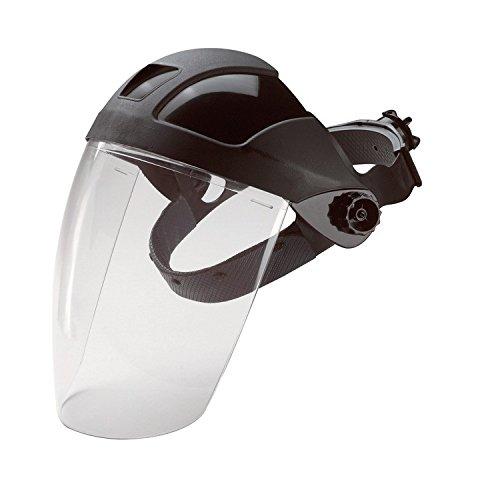Projection de produits chimiques - masque de sécurité