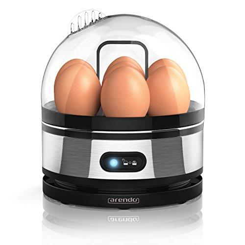 Arendo - Gâteau aux œufs en acier fin avec fonction de maintien des œufs...