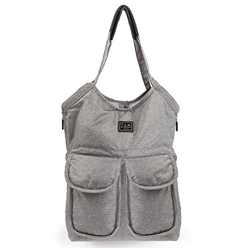7 HEURES DU MATIN Sac à couches Enfant Barcelone gris Heather Grey/Red