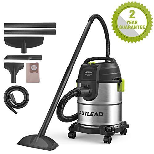 AUTLEAD Aspirateur sec et humide, 1000W 20 L Aspirateur multi-usages ...
