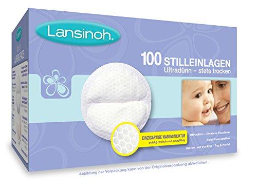 Lansinoh - Coussinets d'allaitement jetables, 100 pcs